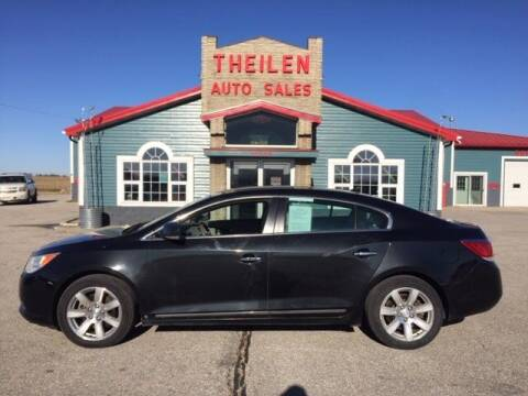 2010 Buick LaCrosse for sale at THEILEN AUTO SALES in Clear Lake IA
