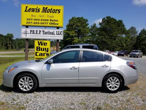 2012 Nissan Altima for sale at Lewis Motors LLC in Deridder LA