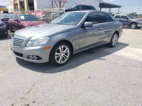 2011 Mercedes-Benz E-Class for sale at INTERNATIONAL AUTO BROKERS INC in Hollywood FL