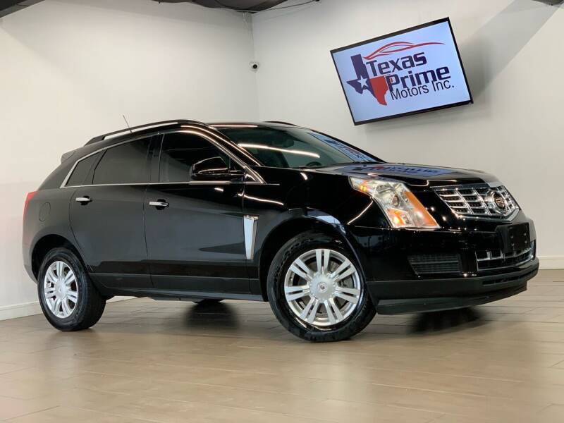 2014 Cadillac SRX for sale at Texas Prime Motors in Houston TX
