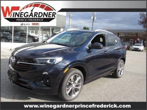 2021 Buick Encore GX for sale at Winegardner Auto Sales in Prince Frederick MD