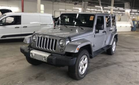 2015 Jeep Wrangler Unlimited for sale at AH Ride & Pride Auto Group in Akron OH