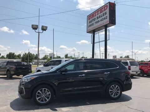 2017 Hyundai Santa Fe for sale at United Auto Sales in Oklahoma City OK