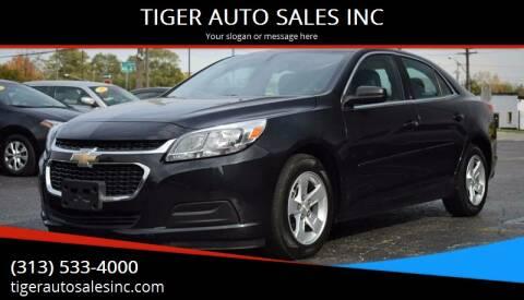 2014 Chevrolet Malibu for sale at TIGER AUTO SALES INC in Redford MI
