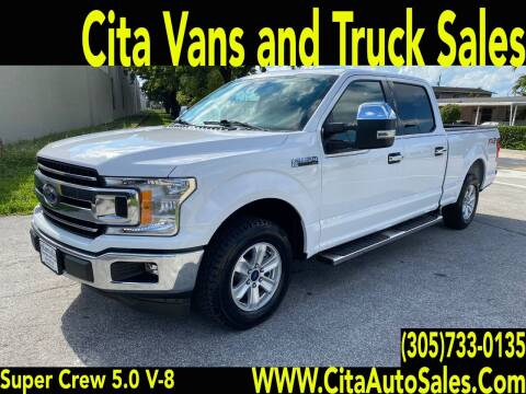 2018 Ford F-150 for sale at Cita Auto Sales in Medley FL
