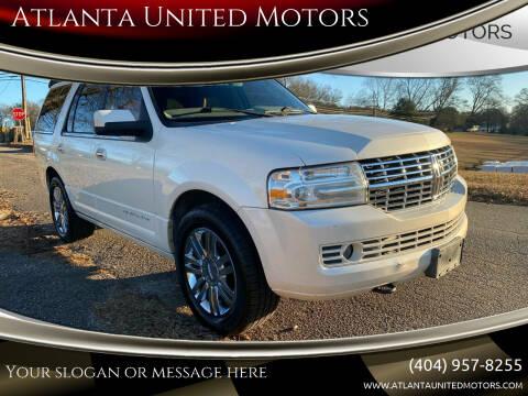 2008 Lincoln Navigator for sale at Atlanta United Motors in Jefferson GA