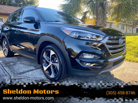 2016 Hyundai Tucson for sale at Sheldon Motors in Tampa FL