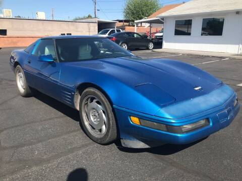 1993 Chevrolet Corvette for sale at Robert Judd Auto Sales in Washington UT