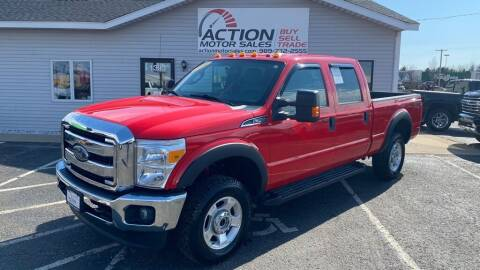 2016 Ford F-250 Super Duty for sale at Action Motor Sales in Gaylord MI