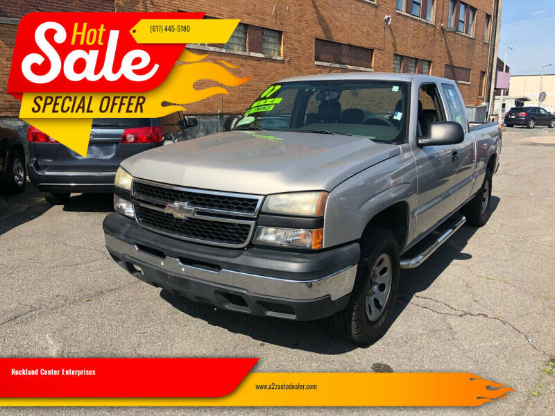 2007 Chevrolet Silverado 1500 Classic for sale at Rockland Center Enterprises in Roxbury MA