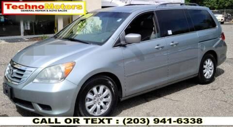 2010 Honda Odyssey for sale at Techno Motors in Danbury CT