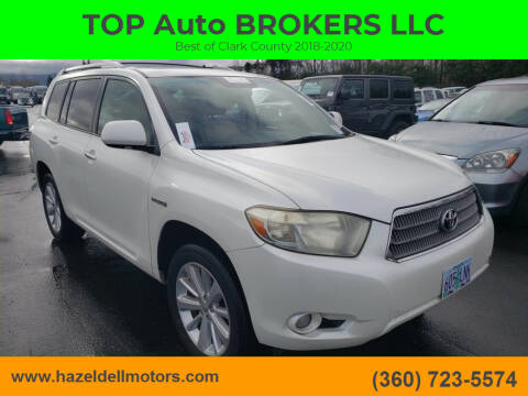 2009 Toyota Highlander Hybrid for sale at TOP Auto BROKERS LLC in Vancouver WA