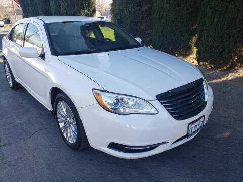 2012 Chrysler 200 for sale at River City Auto Sales Inc in West Sacramento CA