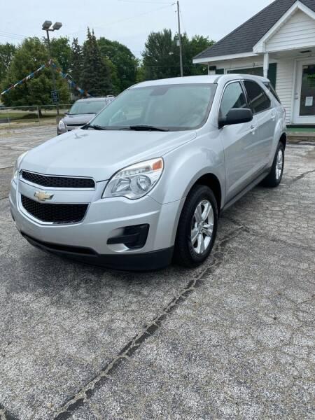 2013 Chevrolet Equinox for sale at SVS Motors in Mount Morris MI