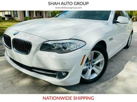 2013 BMW 5 Series for sale at E-Z Auto Finance - E-Biz Auto in Marietta GA