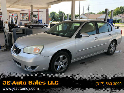 2006 Chevrolet Malibu for sale at JE Auto Sales LLC in Indianapolis IN