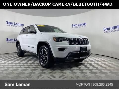 2018 Jeep Grand Cherokee for sale at Sam Leman CDJRF Morton in Morton IL