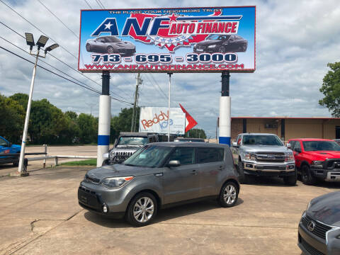 2016 Kia Soul for sale at ANF AUTO FINANCE in Houston TX