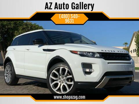 2015 Land Rover Range Rover Evoque for sale at AZ Auto Gallery in Mesa AZ