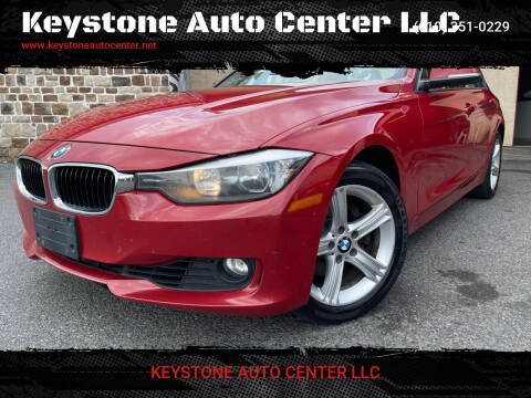 2013 BMW 3 Series for sale at Keystone Auto Center LLC in Allentown PA