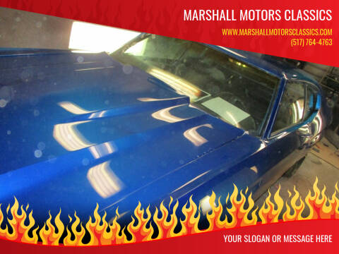 1972 Chevrolet Chevelle for sale at Marshall Motors Classics in Jackson MI
