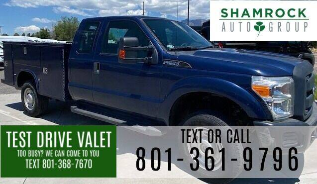 2012 Ford F-250 Super Duty for sale at Shamrock Group LLC #1 in Pleasant Grove UT