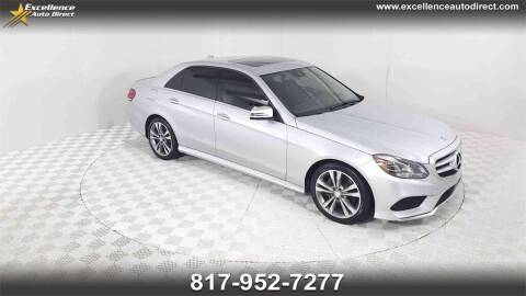 2016 Mercedes-Benz E-Class for sale at Excellence Auto Direct in Euless TX