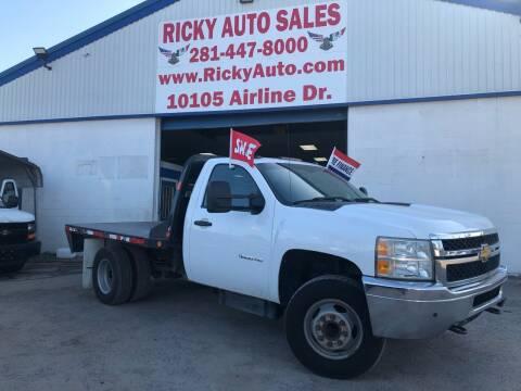 2012 Chevrolet Silverado 3500HD CC for sale at Ricky Auto Sales in Houston TX