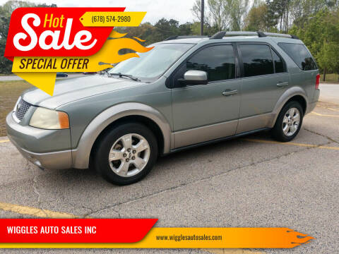 2005 Ford Freestyle for sale at WIGGLES AUTO SALES INC in Mableton GA