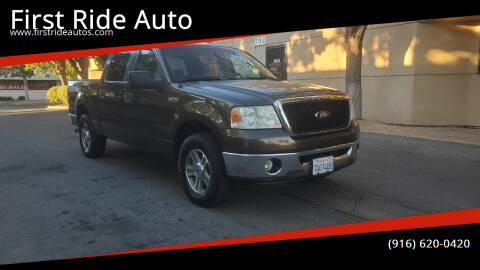 2008 Ford F-150 for sale at First Ride Auto in Sacramento CA