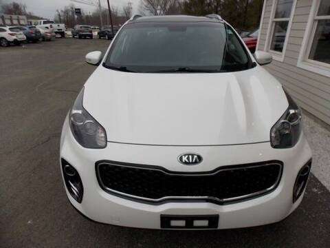 2017 Kia Sportage for sale at Bachettis Auto Sales in Sheffield MA