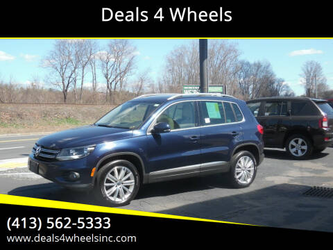 2013 Volkswagen Tiguan for sale at Deals 4 Wheels in Westfield MA
