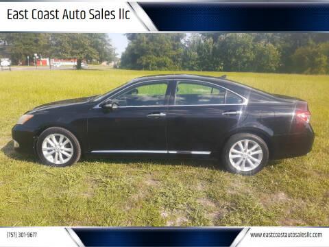 2010 Lexus ES 350 for sale at East Coast Auto Sales llc in Virginia Beach VA