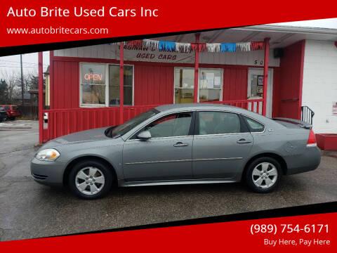 2009 Chevrolet Impala for sale at Auto Brite Used Cars Inc in Saginaw MI