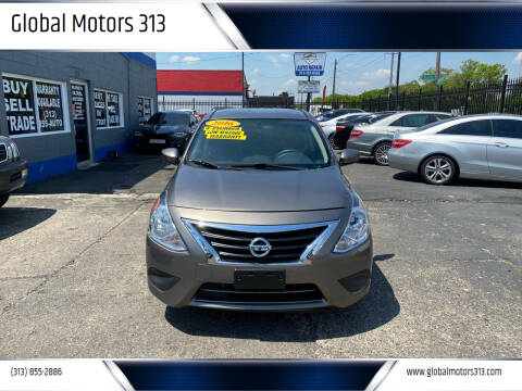 2016 Nissan Versa for sale at Global Motors 313 in Detroit MI