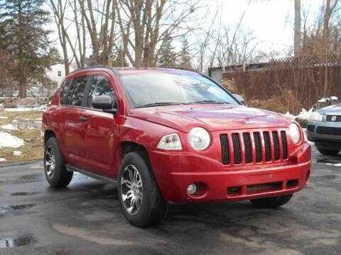 2007 Jeep Compass for sale at MT MORRIS AUTO SALES INC in Mount Morris MI