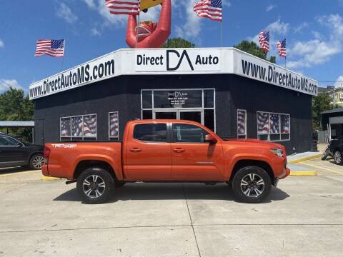 2017 Toyota Tacoma for sale at Direct Auto in D'Iberville MS