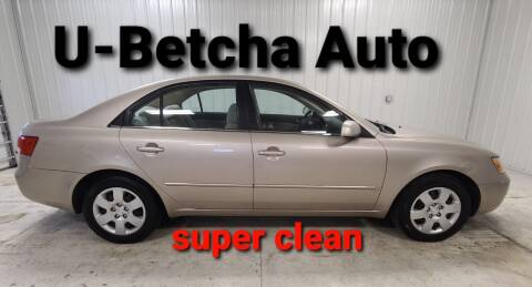 2007 Hyundai Sonata for sale at Ubetcha Auto in St. Paul NE