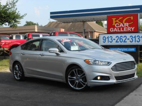 2014 Ford Fusion for sale at KC Car Gallery in Kansas City KS