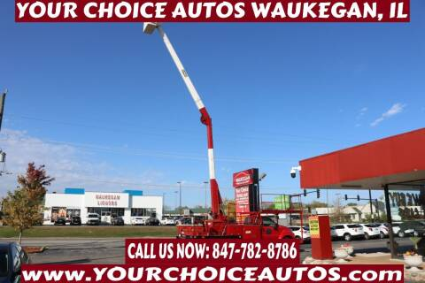 2007 Ford F-750 Super Duty for sale at Your Choice Autos - Waukegan in Waukegan IL