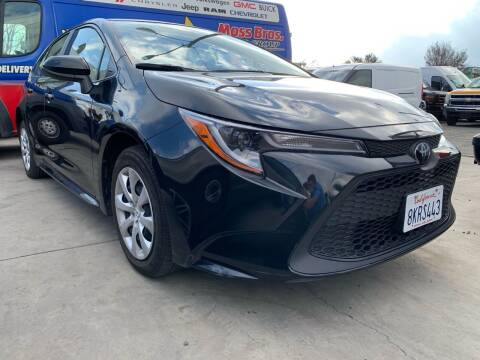 2020 Toyota Corolla for sale at Best Buy Quality Cars in Bellflower CA