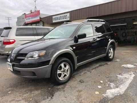 2003 Mitsubishi Outlander for sale at WINDOM AUTO OUTLET LLC in Windom MN