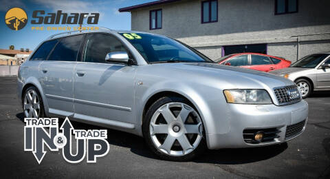 2005 Audi S4 for sale at Sahara Pre-Owned Center in Phoenix AZ