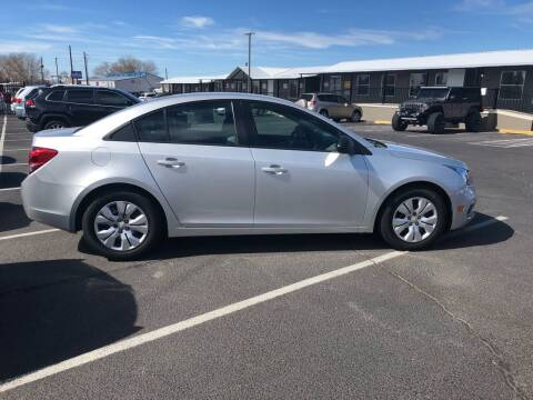 2015 Chevrolet Cruze for sale at Car & Truck Gallery in Albuquerque NM