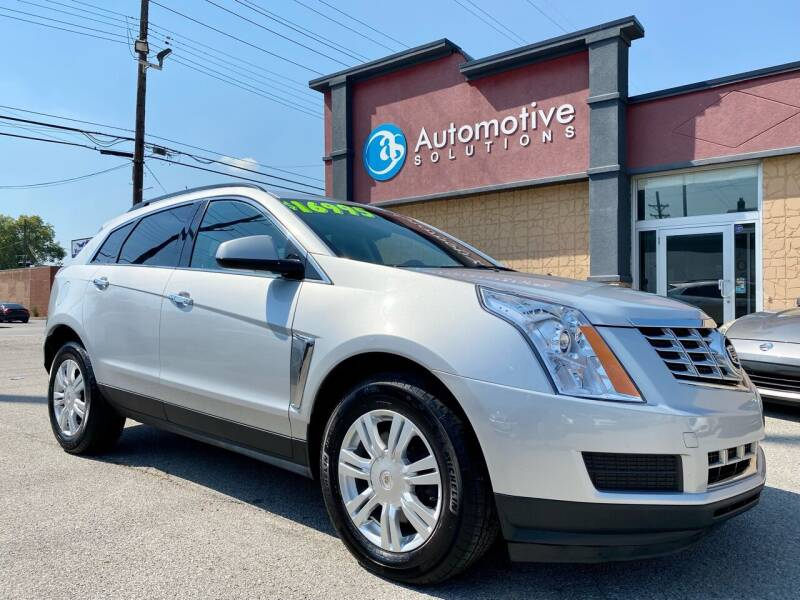 2015 Cadillac SRX for sale at Automotive Solutions in Louisville KY