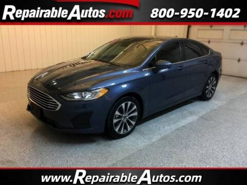 2019 Ford Fusion for sale at Ken's Auto in Strasburg ND