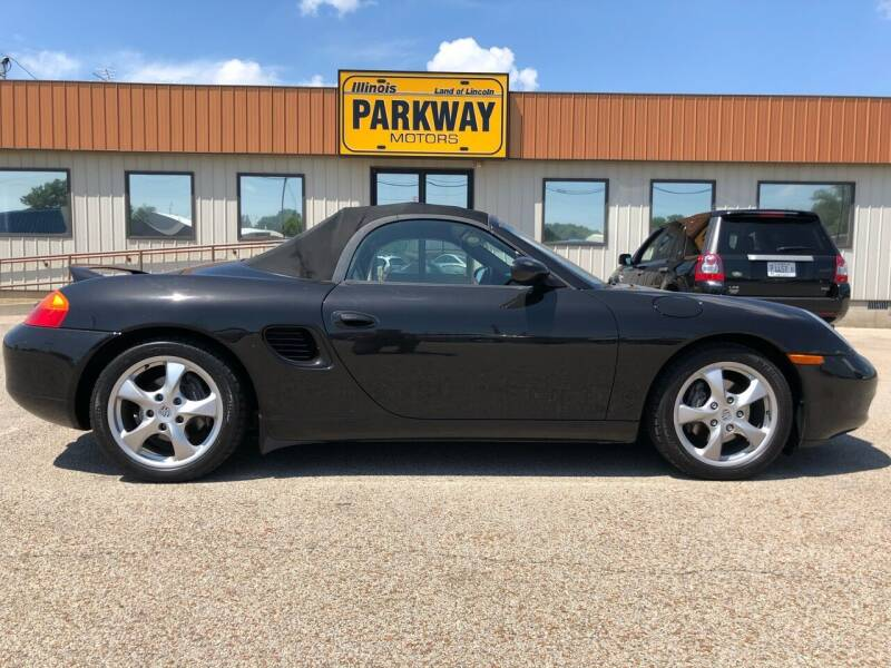 2001 Porsche Boxster for sale at Parkway Motors in Springfield IL