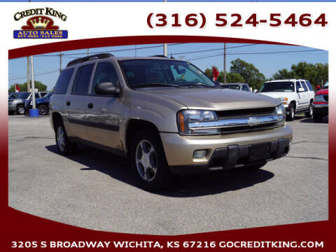 2005 Chevrolet TrailBlazer EXT for sale at Credit King Auto Sales in Wichita KS