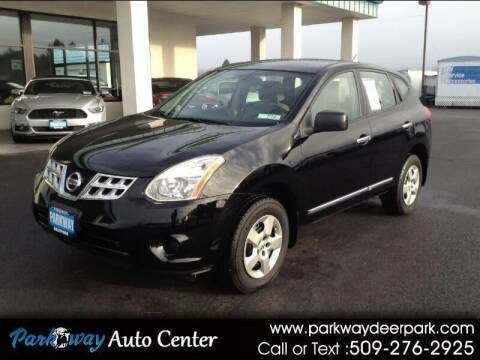 2012 Nissan Rogue for sale at PARKWAY AUTO CENTER AND RV in Deer Park WA