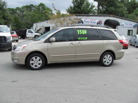 2004 Toyota Sienna for sale at Pure 1 Auto in New Bern NC